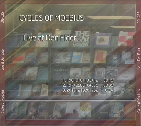 Cycles Of Moebius - Live at Den Elder - back
